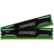 Ballistix Sport 8Go Kit (4Gox2) DDR3 1600 MT/s (PC3-12800) UDIMM 240-Pin Memory - BLS2C4G3D169DS1J
