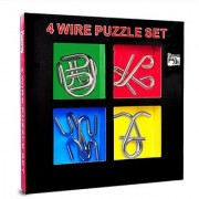50% off Metal Brain Teaser Puzzle Game Fun Mind Games for Kids and Adults Excellent IQ Puzzle