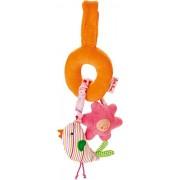 Kathe Kruse - In The Garden - Bird Mini Mobile Toy by KÀthe Kruse