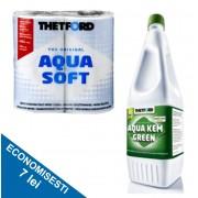 PACHET BASIC G1: Solutie de dizolvat deseurile 1,5 l + Hartie igienica solubila
