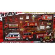 Fire alarm Tűzoltó szett No.3039A3 - Gyerek játék