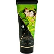 Shunga Erotic Art Massage Cream - Pear & Green Tea - crema da massaggio edibile