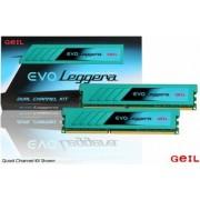 Geil 16 GB DDR3-RAM - 1866MHz - (GEL316GB1866C9DC) GeIL EVO Leggera Series CL9