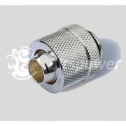 Fiting compresie alama Bitspower 1/4inch la 13/10mm, True Silver