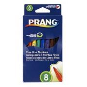 Dixon Ticonderoga Company DIX80719 Prang marcadores lavables Fine Line 8 Color Configurar
