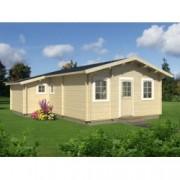 Casa de madera Emily 3 de 660x780 cm. para Jardín