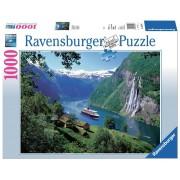 Ravensburger puzzle fiord norvegian, 1000 piese