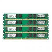 Kingston Technology Kingston KVR1333D3N9K4/32G RAM 32Go 1333MHz DDR3 Non-ECC CL9 DIMM Kit (4x8Go) 240-pin, 1.5V