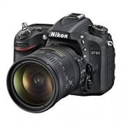 Nikon D7100 cámara réflex digital de 24.1 Mpix Kit 18-200 VR II caja de lente Negro