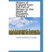 History of England from the Fall of Wolsey to the Death of Elizabeth, Volume I by James Anthony Froude