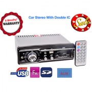 Universal Car Stereo with double IC