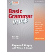 Basic Grammar in Use: Self-Study Reference and Practice for Students of North American English with Answers [With CDROM]