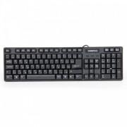 Клавиатура (жична) Omega OK-06 Draco Slim USB Black