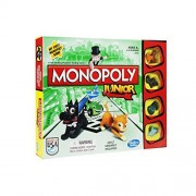 Traditional games have fun with this classic board games and dice games - kids Children Perfect Ideal Christmas Present Birthday gift stocking filler (Monopoly Junior Board Game) by GBP INTERNATIONAL