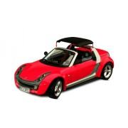 Bburago 34099 - MODELLINO Auto Burago-1/18 Smart Roadster Giallo