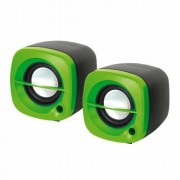 Sistem audio 2.0 Omega OG15G 6W GREEN