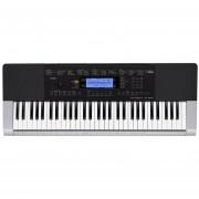 Piano Eléctrico Casio CTK4400 61 Teclas - Gris/Negro