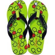 Fisher Hexagon Flip Flops