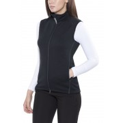 Houdini East And Gilet Donne nero S Gilet in pile e lana