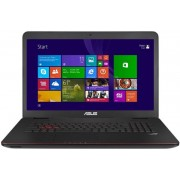 "Laptop Gaming ASUS G771JW-V2-T7050H (Procesor Intel® Quad-Core™ i7-4720HQ (6M Cache, up to 3.60 GHz), Haswell, 17.3""FHD, 8GB, 750GB @7200rpm, nVidia GeForce GTX 960M@2GB, Tastatura iluminata, Win8.1 64-bit)"