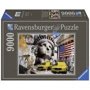 Ravensburger - 17803 - Puzzle - Métropole New York City - 9000 pièces
