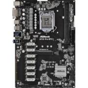 Placa de baza ASRock H110 Pro BTC+ Socket 1151 Mining
