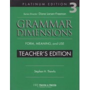 Grammar Dimensions 3: Teacher's Edition by Thewlis, Stephen