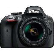 Nikon d3300 + 18-55mm af-p dx vr - nero - man. ita - 2 anni di garanzia