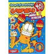 Garfield. Marea petrecere - Carte de colorat
