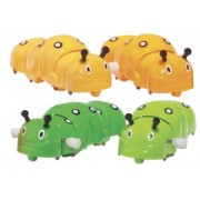 CRAWLY CATERPILLAR Wind Up Toy - Sold as Single item - Color may vary