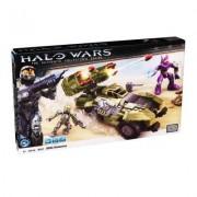 Véhicule Et Figurines À Assembler : Halo Wars : Wolverine Unsc