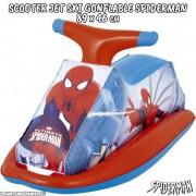Scooter - Jet ski gonflable Spiderman 89 x 46 cm