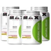 Combo 4x Natural Vegan - 500g - Max Titanium