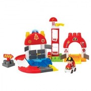 Winfun I-Builder Fire Station Set (65 Piece)