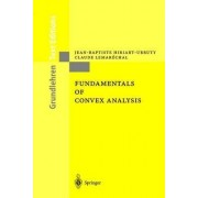 Fundamentals of Convex Analysis by Jean-Baptiste Hiriart-Urruty