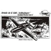 Planet Models CM-72015 model kit Arado Ar.E-580 Volksjäger, progetto WW II