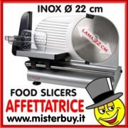 AFFETTATRICE METALLO LAMA INOX 22 cm