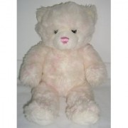 Build-A-Bear Workshop Pink and White Tie Dye Teddy Bear Plush Stuffed Animal