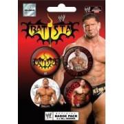 Pyramid - 41004 - WWE set de 4 badges - Batista