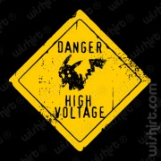 T-shirt Pikachu Danger High Voltage