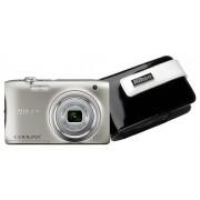 Nikon Coolpix A100 + CS-S26 toc cadou (argint)