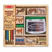 Melissa & Doug Horses Stamp Set - 2410