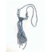 Molletta clic clac in tessuto con fiore in raso bianco e perle per acconciature capelli comunione o cresima conf 1 pezzo