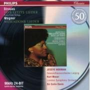 Strauss/Wagner - Vier Letzte Lieder/ Wesend (0028946474228) (1 CD)