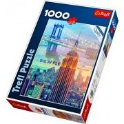 Trefl 10393 - New York City all'alba - puzzle 1000 pezzi