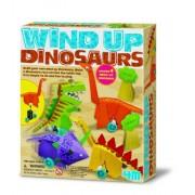 4M Wind-Up Dinosaurs Making Kit
