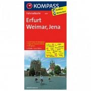 Kompass - Erfurt - Radkarte