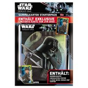Topps d105819 de - Star Wars Rogue One per carte da collezione, Starter Pack, Sammelmappe, Lista, 5 biglietti e carta 1 edizione limitata