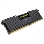 Памет Corsair DDR4, 2400MHz 8GB 1 x 288 DIMM, Unbuffered, 14-16-16-31, Vengeance LPX Black Heat spreader, 1.20V, XMP 2.0, CMK8GX4M1A2400C14