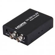 ILS 3 G SDI to AV convertidor/Audio Scaler, Support Convert SD-SDI, HD-SDI, 3 G-SDI Signal to be shown on normal TV